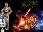 STAR WARS R2D2 & C3PO The Force Awakens
