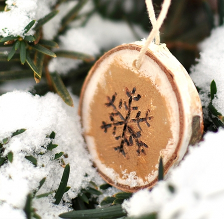* - christmas, snow, snowfall, crafts, branch, wood, winter