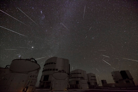 When Gemini Sends Stars to Paranal - stars, fun, cool, space