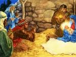 Three Holy Kings in Bethlehem