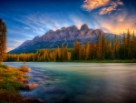 Sunrise In Banff Natl. Park