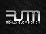 Really slow motion music logo