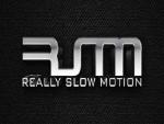 Really slow motion music logo