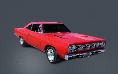 plymouth road runner - plymouth, coupe, road, runner