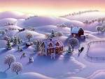 Farmyard Winter
