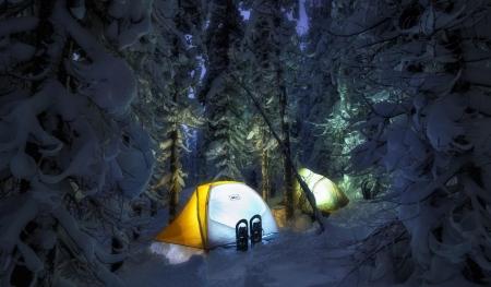 Winter Camp Winter Nature Background Wallpapers On Desktop Nexus Image 2056748