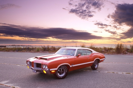 1971-Oldsmobile-442 - Classic, Olds, GM, Muscle