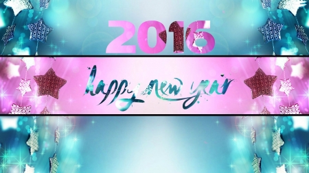 happy new year - 2016, new, year, happy