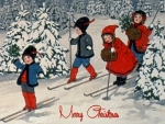 Christmas Ski Time