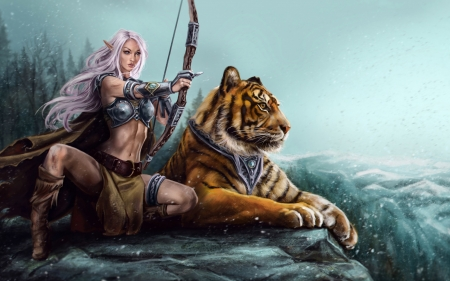 Free 3d tiger porn
