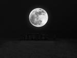Stonehenge under the moonlight