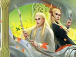 Legolas and Thranduil