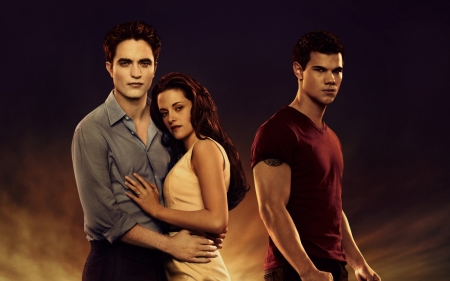 The Twilight Saga - Breaking Dawn (2011 - 2012) - movie, bella, taylor lautner, fantasy, The Twilight Saga, actress, edward, werewolf, vampire, couple, cullen, robert pattinson, Breaking Dawn, jacob, man, kristen stewart, actor