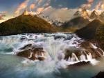 Salto Grande Waterfall, Chile