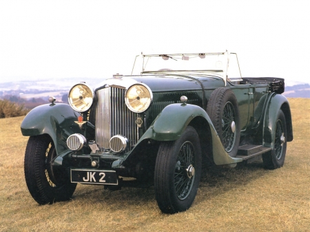 bentley 8l touring car - bentley, touring, car, classic, vintage