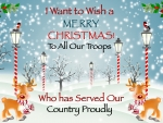 Merry Christmas to Our Military