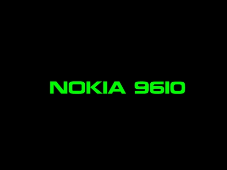Nokia 9610 - black, green, Nokia, Intel