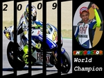 Rossi World Champion 2009
