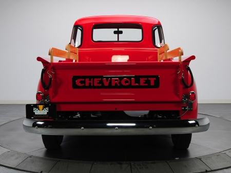 chevrolet 3100 pick up truck - truck, american, pick up, chevrolet