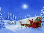 Santa's Work Is Done