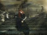 gothic redhead