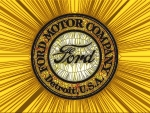 1911 Ford Logo     Absract
