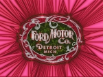 First Ford Logo,1901    abstract