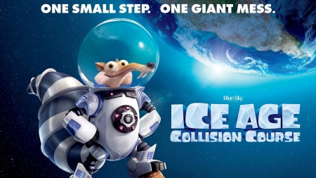 Ice Age: Collision Cource - 2016, Course, collision, funny, Ice, age