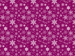 Purple Christams Pattern