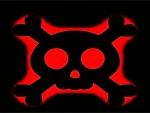 Gabbernetz Skull Red