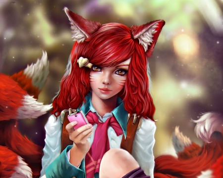 Redhead wise tails pics