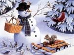 Snowman's Buddies