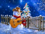 Guitar Snowman
