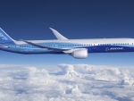 blue boeing 787