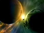 Collision of Planets