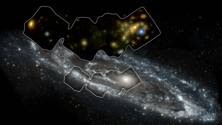 High Energy Andromeda - stars, fun, cool, galaxy, space