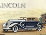 1935 Lincoln Le Barron Convertible Sedan