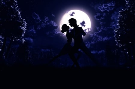 Dancing under the moonlight - Fantasy & Abstract ...
