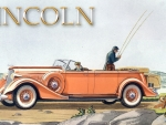 1935  Lincoln Seven Passenger Touring car