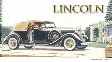 1935 Lincoln Brunn Convertible Victoria - Lincoln Wallpaper, Lincoln Cars, 1935 Lincoln Brunn Convertible Victoria wallpaper, 1935 Lincoln Brunn Convertible Victoria background