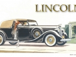 1935 Lincoln Brunn Convertible Victoria