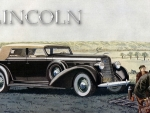 1936 Lincoln LeBaron Convertible Sedan