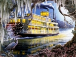 Ghostly Steamboat