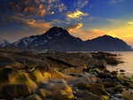 Lakeside Mountains