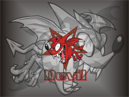 Devil - red, jrc, devil, camara
