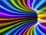 Vector color tunnel