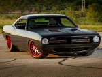 This 1,200HP 1973 Plymouth Cuda Gives Exotics A Run For Their Money!