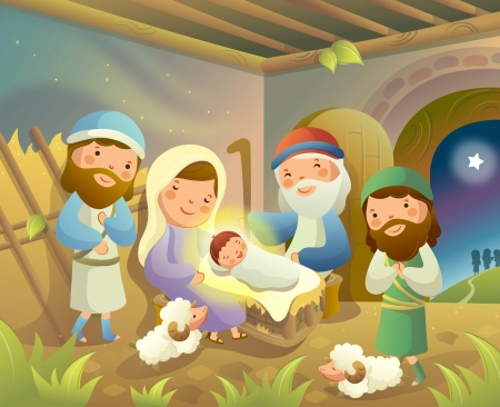 Jesus Is Born 3d And Cg Abstract Background Wallpapers