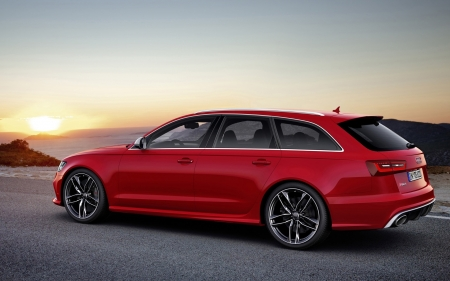audi rs6 avant wagon - german, wagon, avant, audi