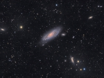 The View Toward M106